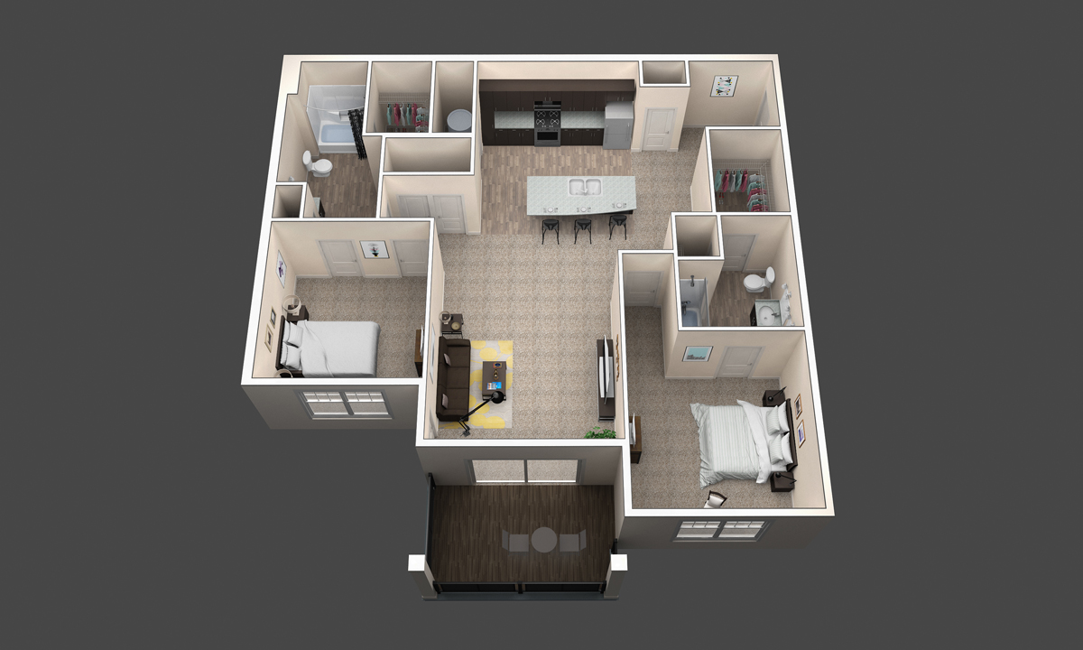 The Buckeye floor plan