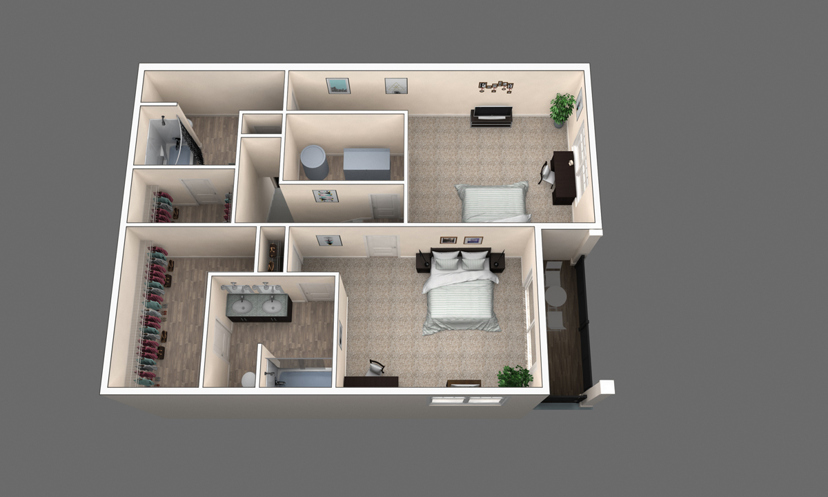 The Evergreen floor plan