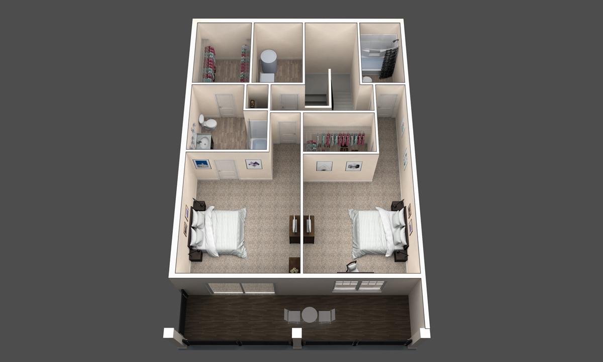 The Redwood floor plan